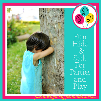Fun Hide and Seek For Parties and Play