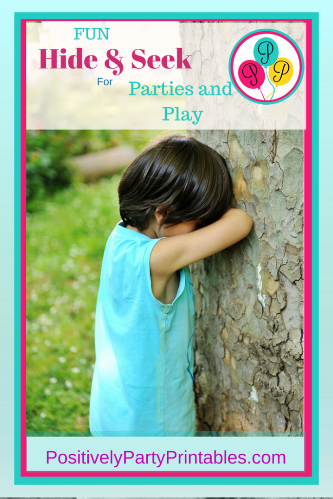 Birthday Party Games,-Positively Party Printables, planning games for children's parties