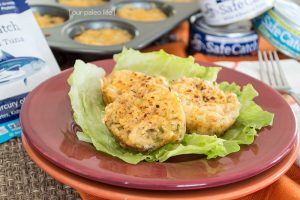 paleo Tuna melt-grat for kids