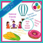 Family Fun Ideas for June pt.1