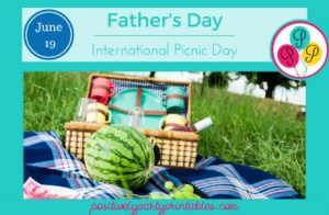 June Father's Day Picnic