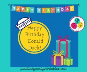 Donald Duck's birthday