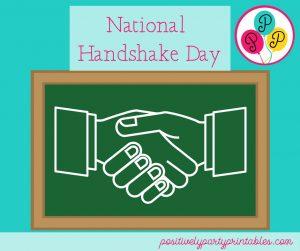 National Handshake Day
