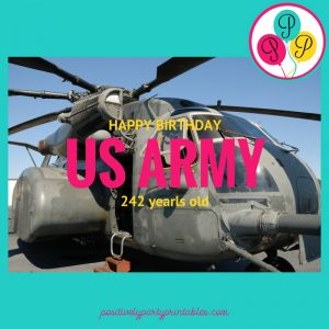 Happy Birthday US Army