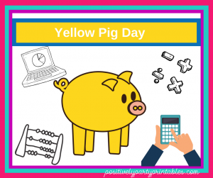 June-Yellow Pig Day