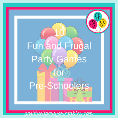 10 Fun and frugal Party Games for Pre-schoolers