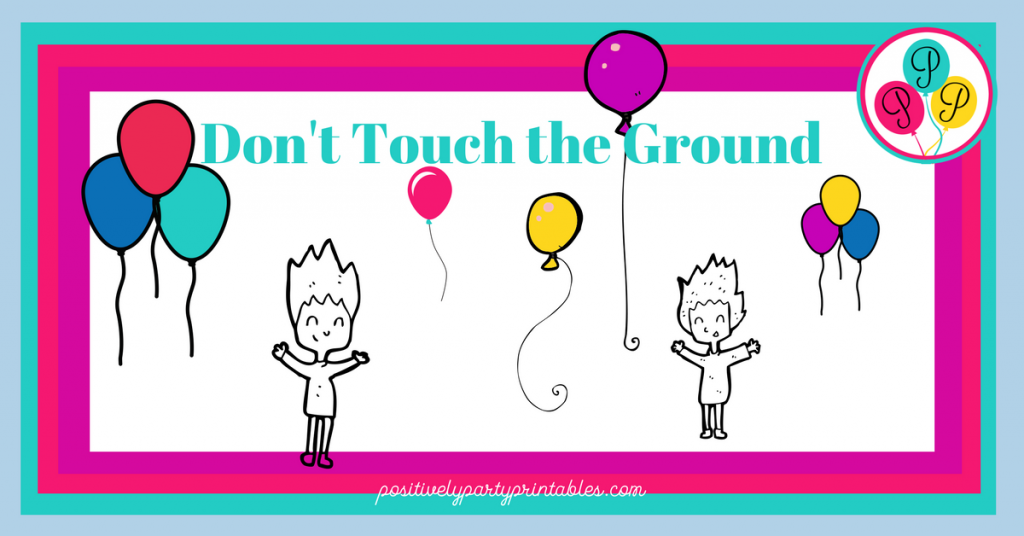 Don't Touch the Ground Game