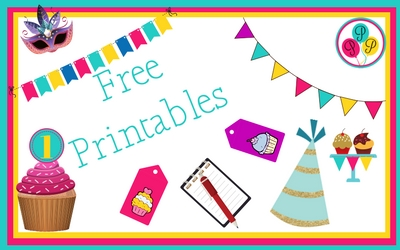 Free Printables from Positively Party Printables