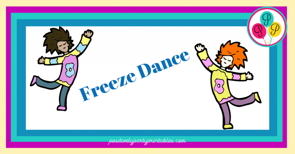 Freeze Dance Game