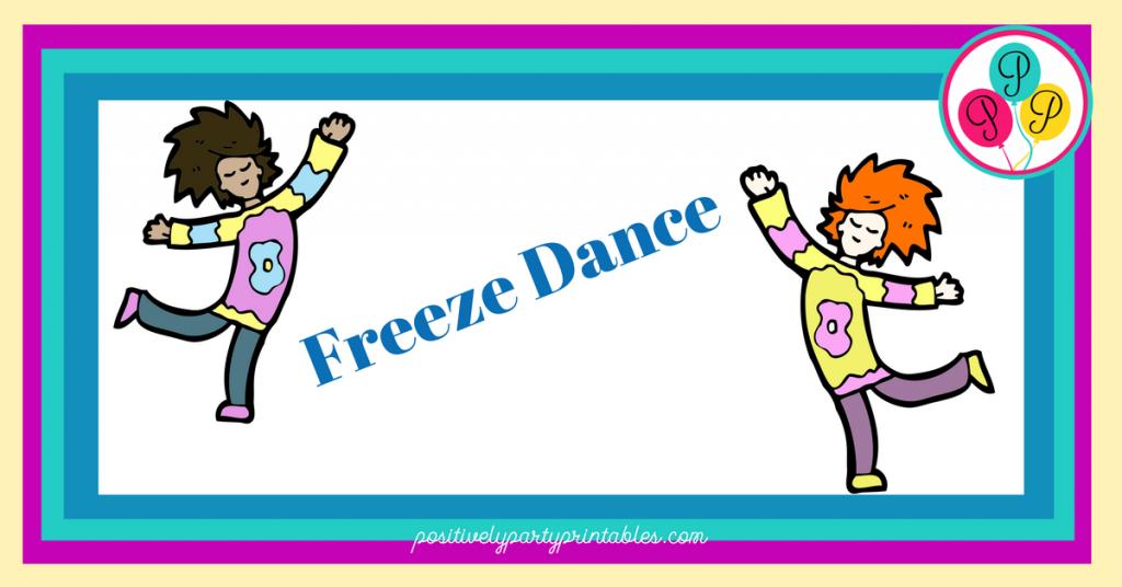 Freeze Dance Game