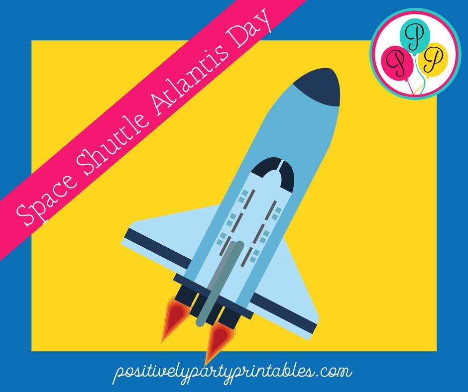 Space Shuttle Atlantis Day