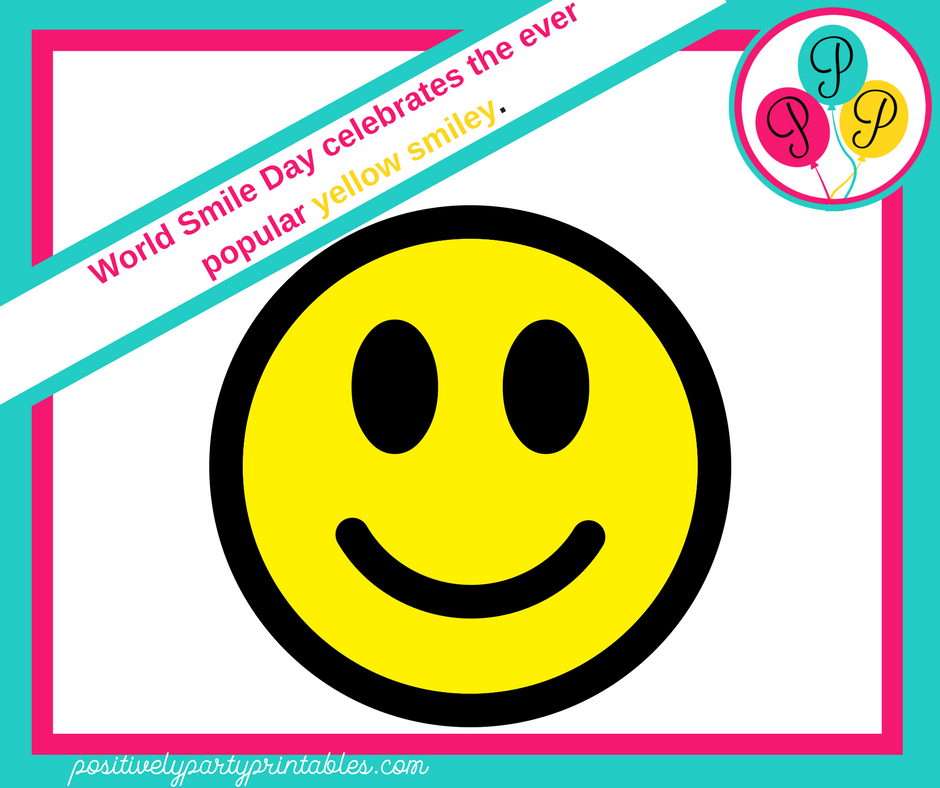 World Smile Day celebrates the ever popular smiley face