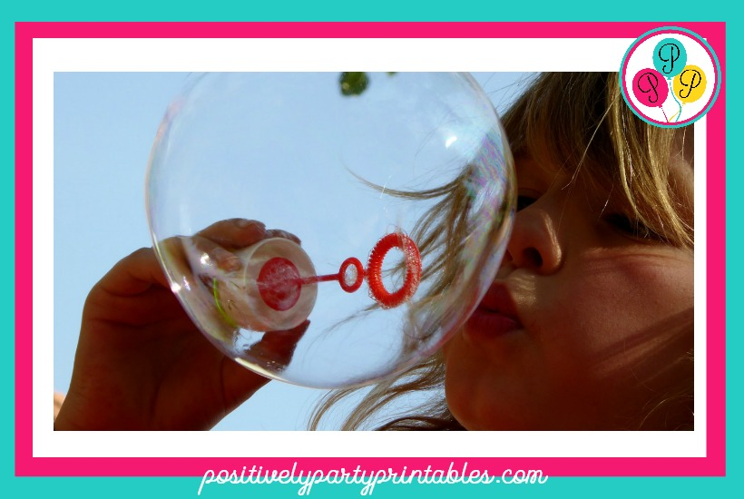 Blowing Bubbles Game