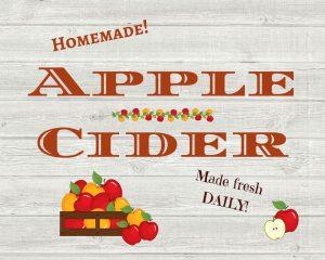 Apple Cider Printable