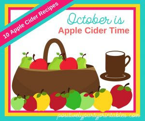 Apple Cider Time