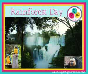 Rainforest Day Fun for Kids
