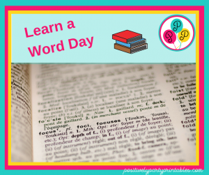 Learn a Word Day
