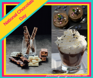 October-National Chocolate Day
