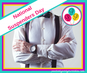 October-National Suspenders Day