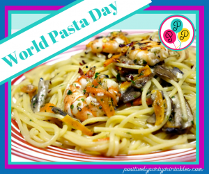 World Pasta Day-Family Fun
