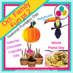 October Family Fun Ideas for every day of the month part.2