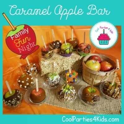DIY an Awesome Caramel Apple Bar for a Fantastic Family Night