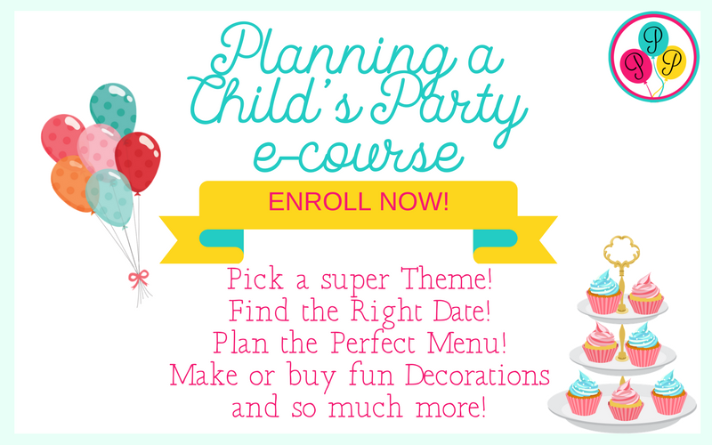 Party Resource Library-Child's Party e-course