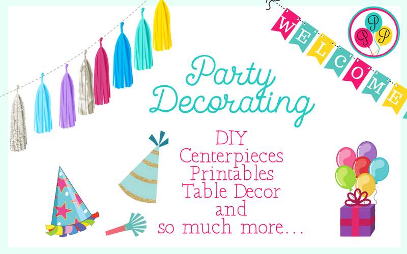 Party Resource Library-Party Decorating
