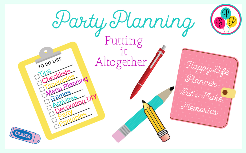 Party Resource Library-Party Planning