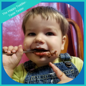 happy toddler taste tester