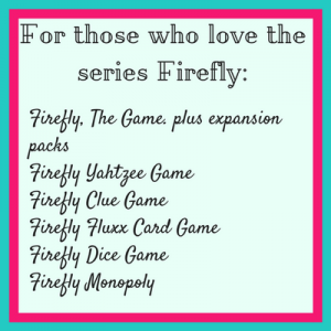 For those who love the series Firefly try (1)