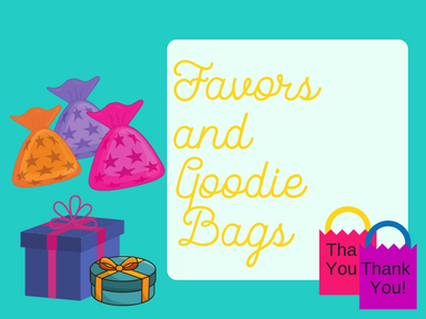 favors and goodie bags