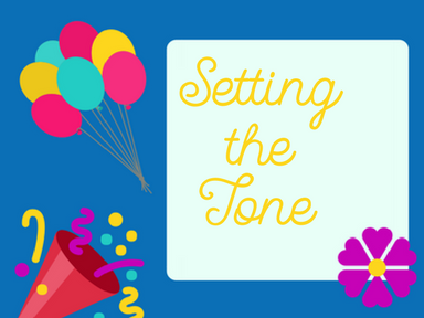 Setting the tone for your party