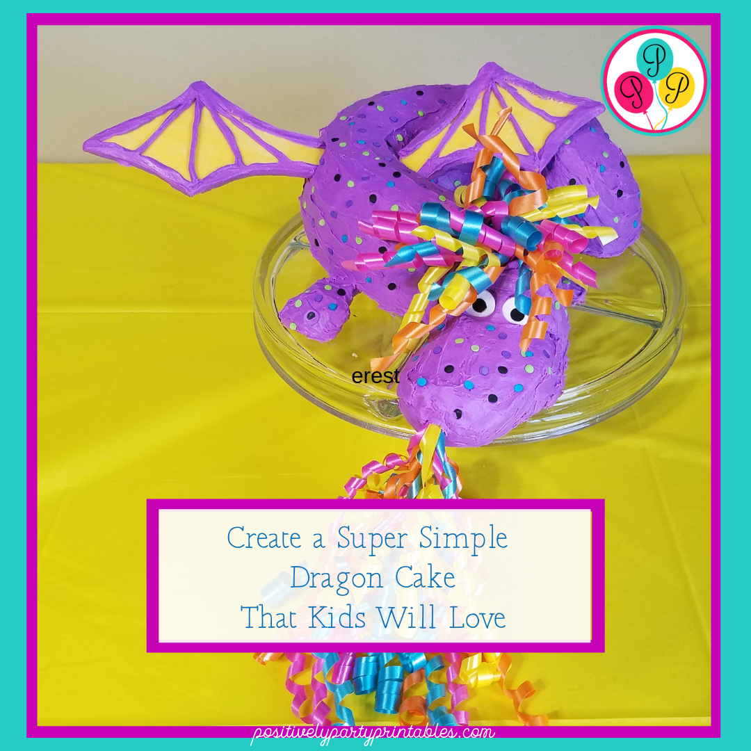 Super Simple Dragon Cake-Kids Will Love It!