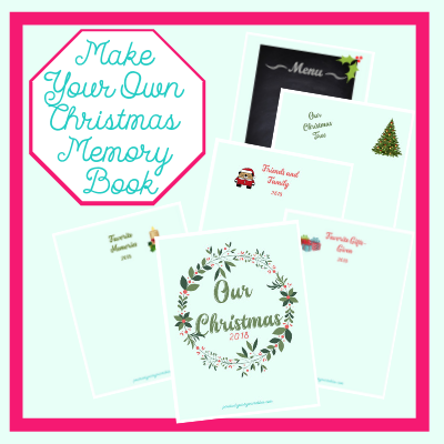 Free Merry Christmas Memory Book