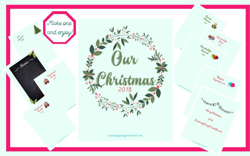 Free Christmas Memory Book