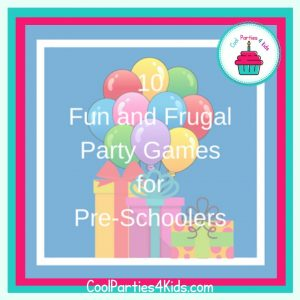 Party Games for Pre-schoolers