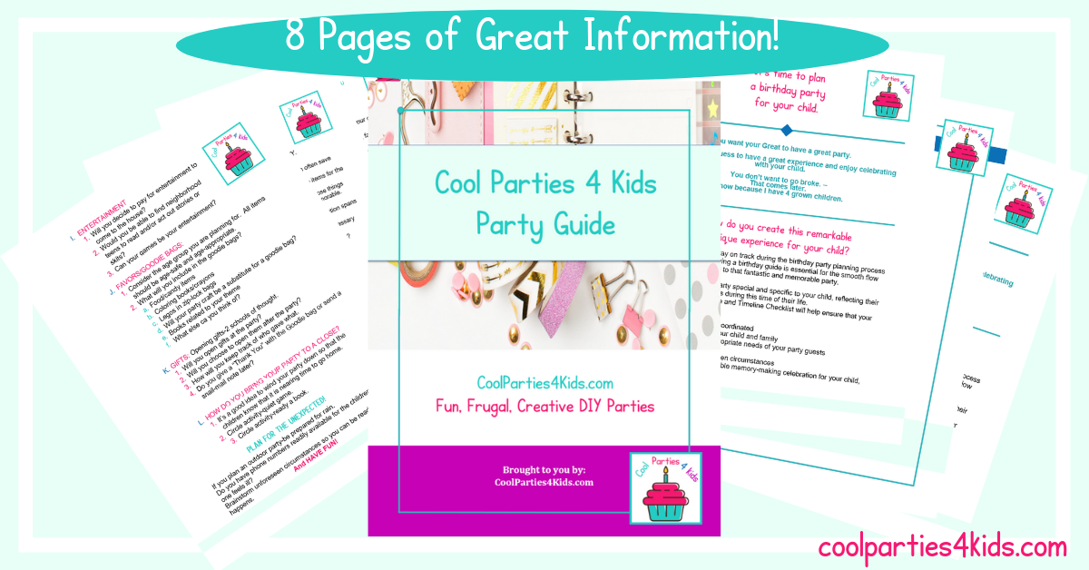 Party Planning Guide for Kid's Parties