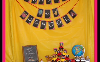 Have a Fantastic Family Fun Time-Back to School Party