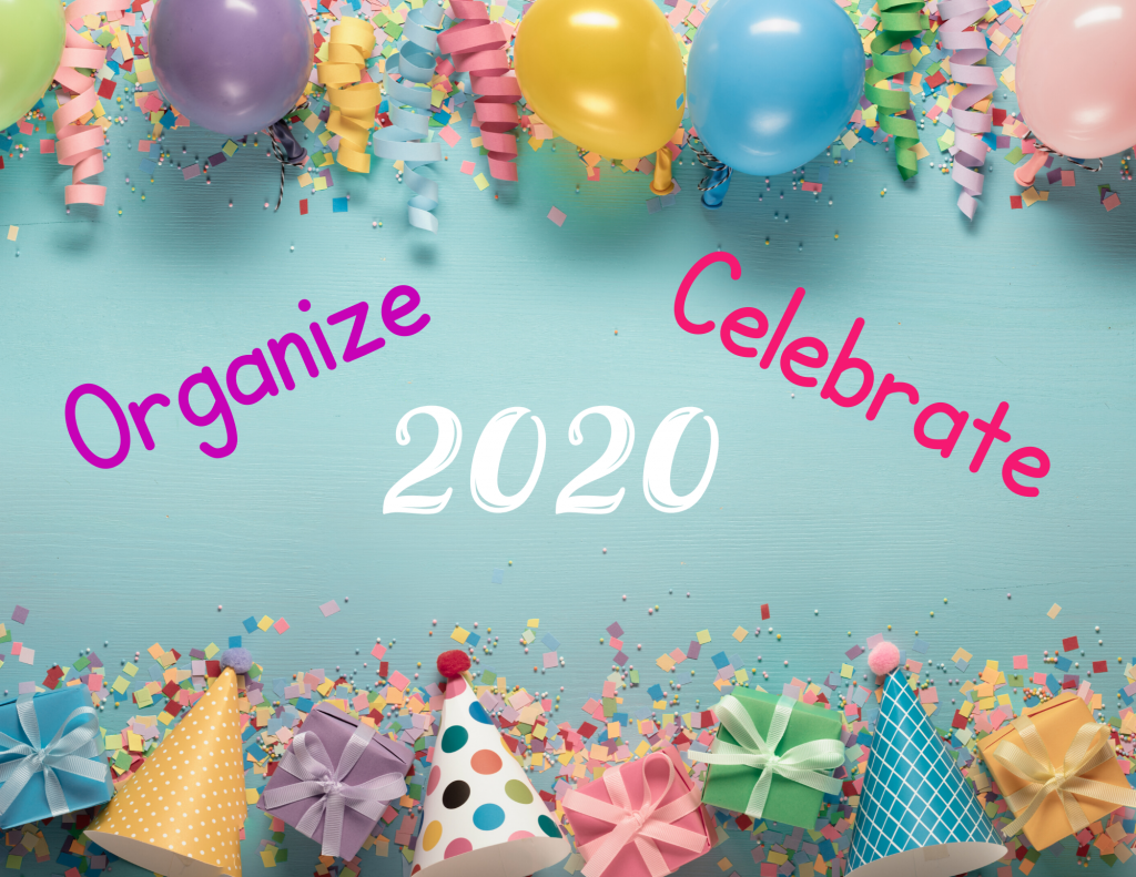 plan and organize 2020