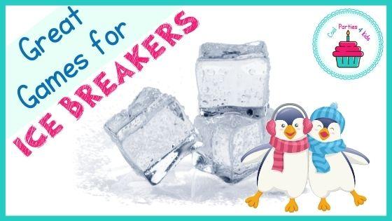 Fun Ice Breaker Games for kids Parties