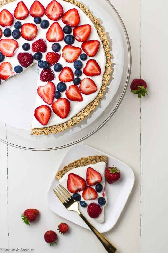 Father's Day Gluten Free Fruit Pizza