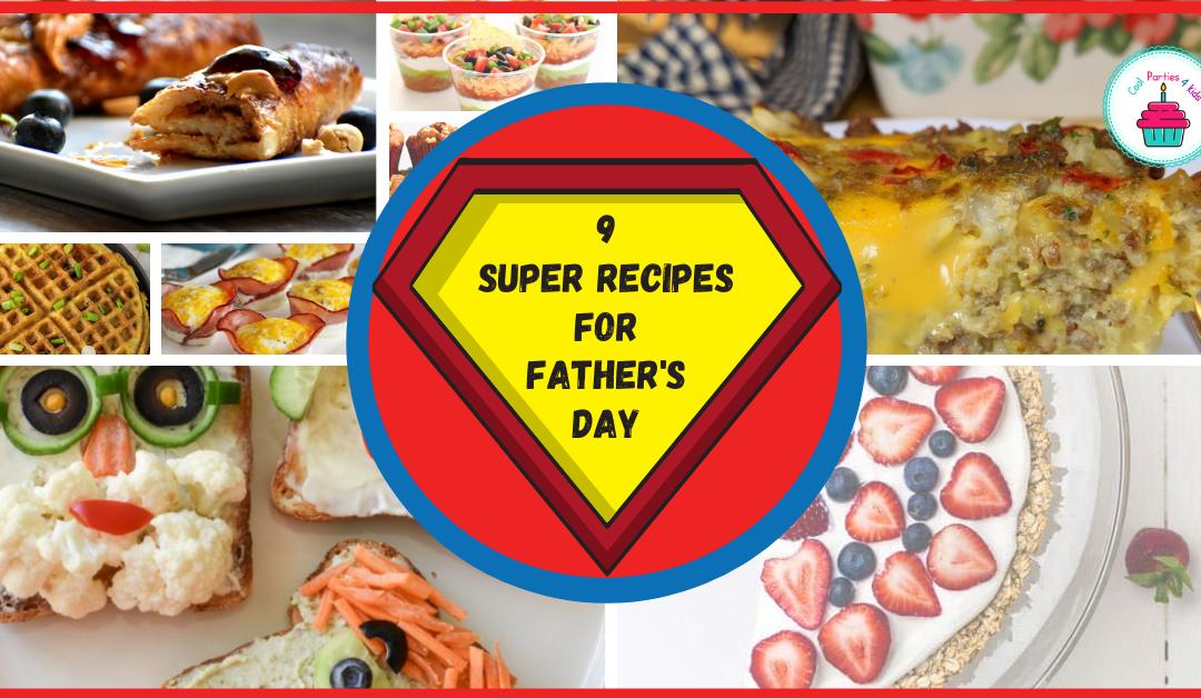 9 Fun Father's Day Menu Ideas-with gluten-free ideas